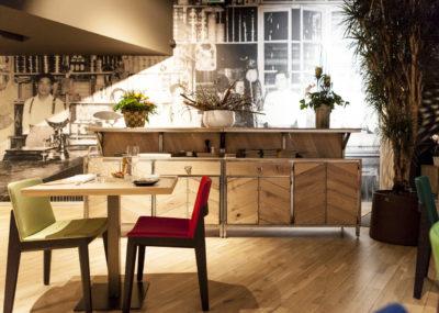 Cabecera decoración Restaurante Mixtura - Portfolio tresatres