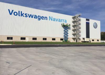 Rótulos para fachada Volkswagen Navarra - Portfolio tresatres