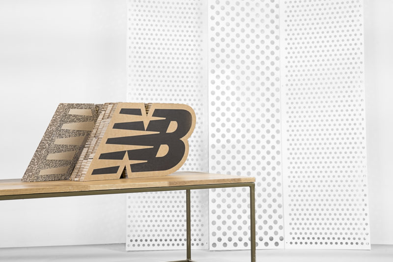 Piezas cartón New Balance - Portfolio tresatres