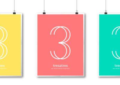Nuevo logo Tresatres - Blog Tresatres
