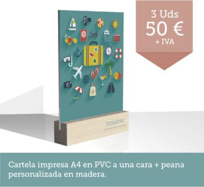 Promoción PVC A4 - Promoción tresatres