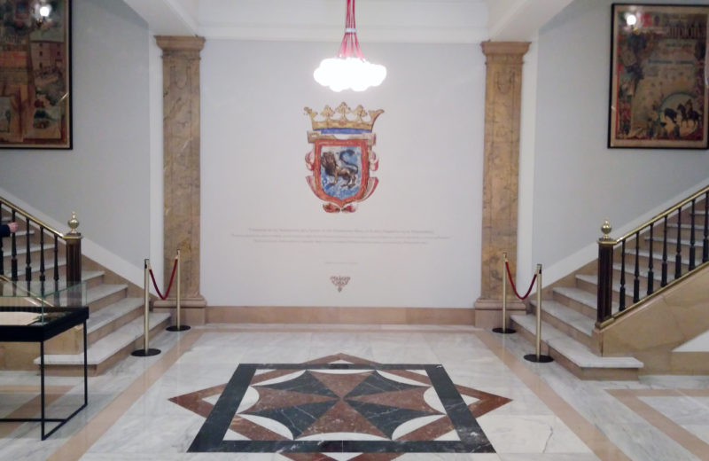 decoracion zaguan ayto pamplona - Portfolio tresatres